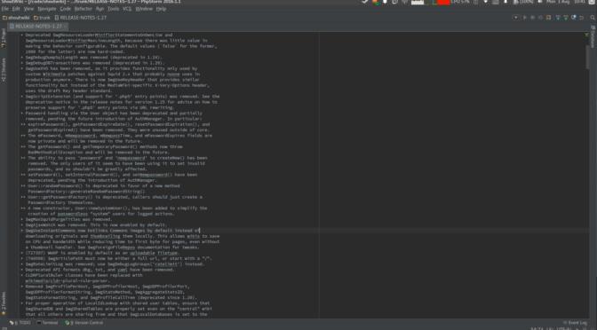 MediaWiki 1.27.0 – Coming Soon!